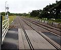 SN5601 : Heart of Wales Line from Llangennech towards Bynea by Jaggery
