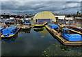 TQ1278 : Adelaide Dock in Southall by Mat Fascione