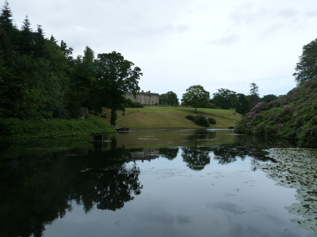 Lake and Manderston House