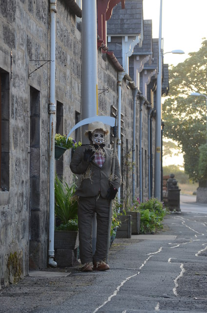Scarecrow in Brora