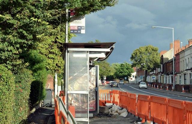 EWAY works, Upper Newtownards Road, Belfast - August 2015(2)