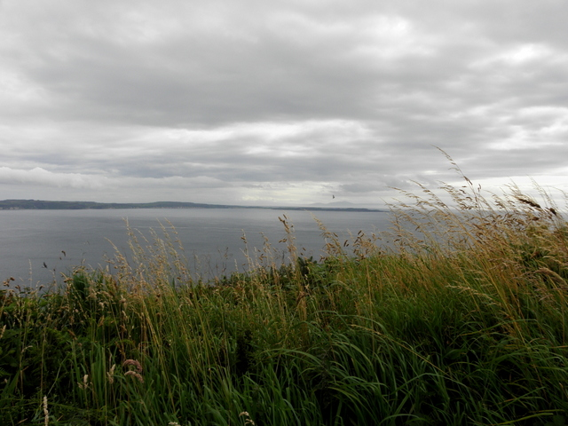 Distant views from County Antrim