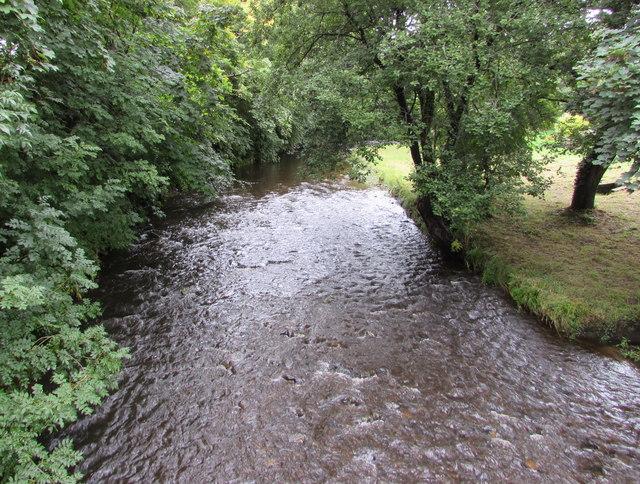 Afon/River Morlais, Llangennech