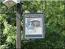 TM0249 : The Wheelhouse pub sign by Adrian S Pye