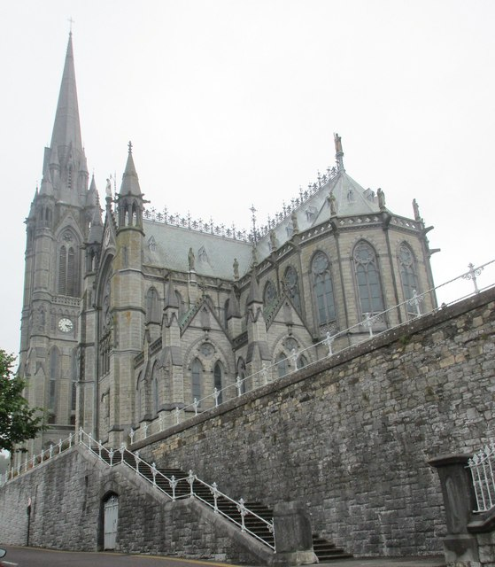 Steps and St. Colman's Cathedral