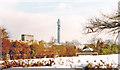 TQ2882 : Winter in Regents Park, 1985 by Ben Brooksbank