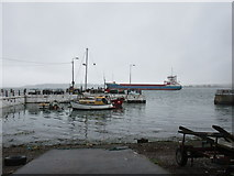 W7966 : Small boats and large, Cobh by Jonathan Thacker