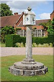 SP1772 : Sundial, Packwood House by Philip Halling