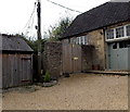 ST9168 : West Street electricity substation in Lacock  by Jaggery