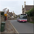 ST9168 : First single-decker in Lacock by Jaggery