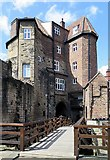 NZ2563 : Black Gate, Newcastle upon Tyne by Andrew Curtis