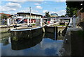 TQ1777 : Thames Locks No 101 by Mat Fascione