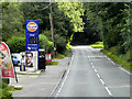 TF8823 : Northbound A1065, South Raynham Service Station by David Dixon