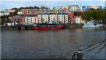 ST5772 : Grain Barge, Bristol by Jaggery