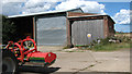 TG4114 : Sheds at Harrison's Farm by Evelyn Simak