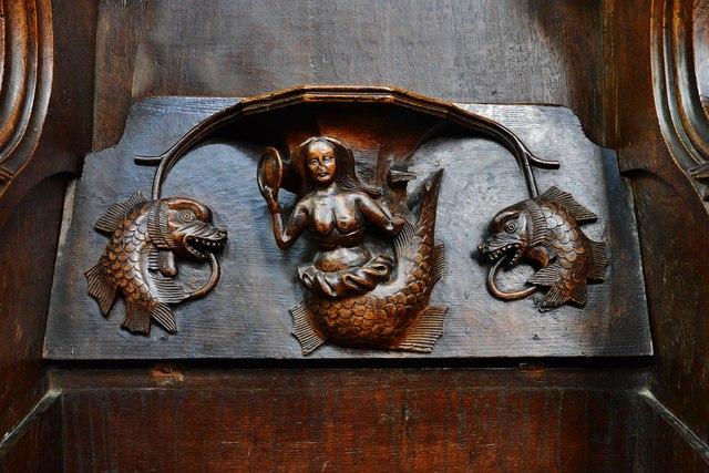 Ludlow: St. Laurence's Church: Misericord North 10 by Michael Garlick