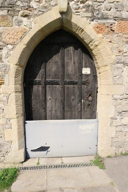Church of Saint Mary, Berrow: Porch Door