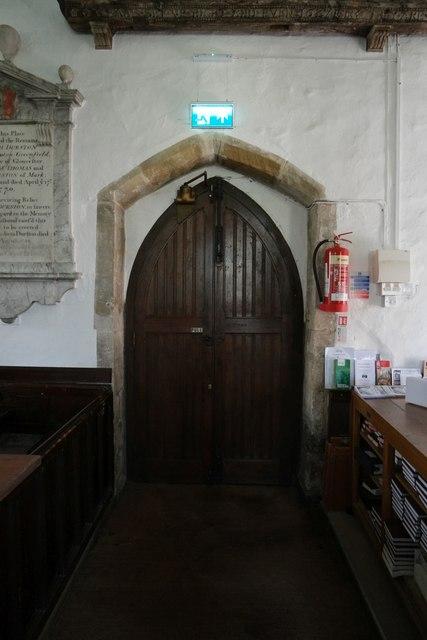 Church of Saint Mary, Berrow: South Door