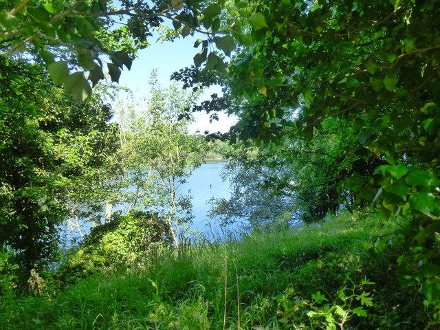 Deeping Lakes: the large lake