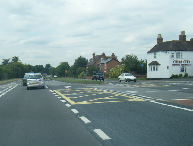 A449 northbound at Oldfield