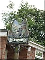 TL7859 : Chevington village sign by Adrian S Pye