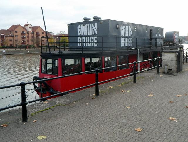 Grain Barge, Bristol