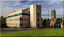 SJ9499 : Ashton under Lyne Telephone Exchange by Peter McDermott