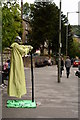 SK2958 : Floating man act, Matlock Bath by Oliver Mills