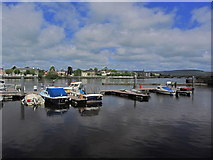 R5757 : Limerick - Boats moored on R Shannon by Custom House Quay by Colin Park