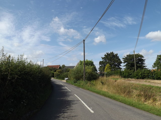Kenton Road & footpath