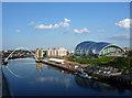 NZ2563 : View from New Tyne Bridge, Newcastle by Stephen Richards