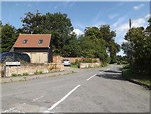 TM1763 : Priory Lane, Debenham by Adrian Cable