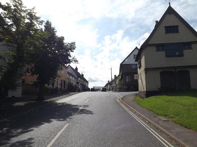 B1077 High Street, Debenham
