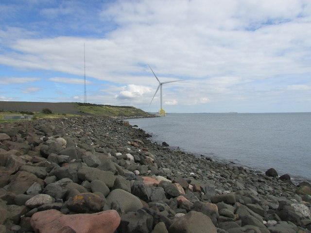 Wind turbine at Methil