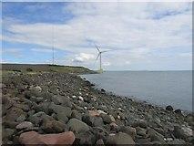 NT3698 : Wind turbine at Methil by Bill Kasman