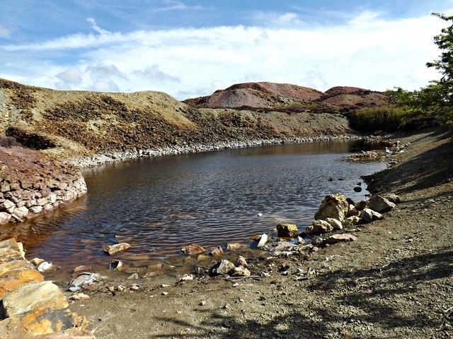 Sampling Pool located at Parys Mountain