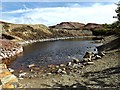 SH4390 : Sampling Pool located at Parys Mountain by Meg Hoare