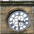 SJ8989 : St Thomas's clock face by Gerald England