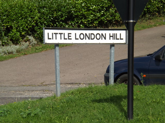 Little London Hill sign