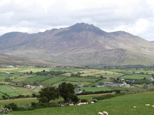 Slieve Binnian viewed from Knockchree