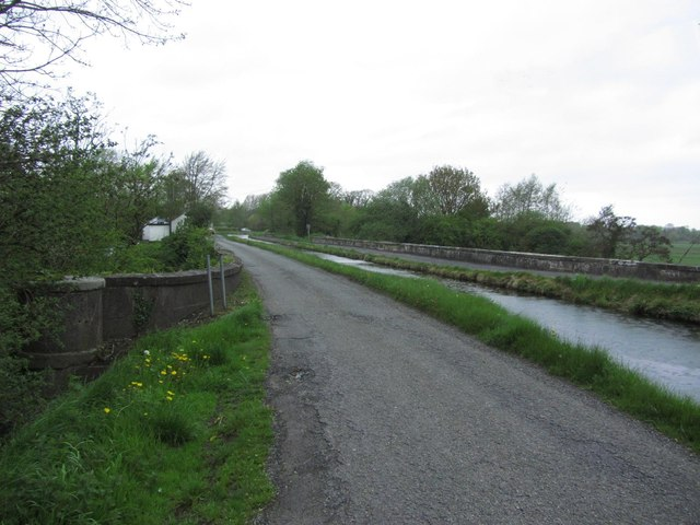 Leinster Aqueduct on the Grand Canal, W of Sallins, © Copyright Colin Park and licensed for reuse under this Creative Commons Licence.