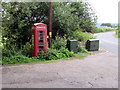 SO3700 : Red phonebox, Llanbadoc by Jaggery
