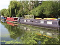 TQ1383 : Loafer, narrowboat on Paddington Branch canal by David Hawgood