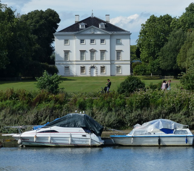 Marble Hill House overlooking the River Thames