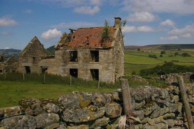 Stork House, ruined farm