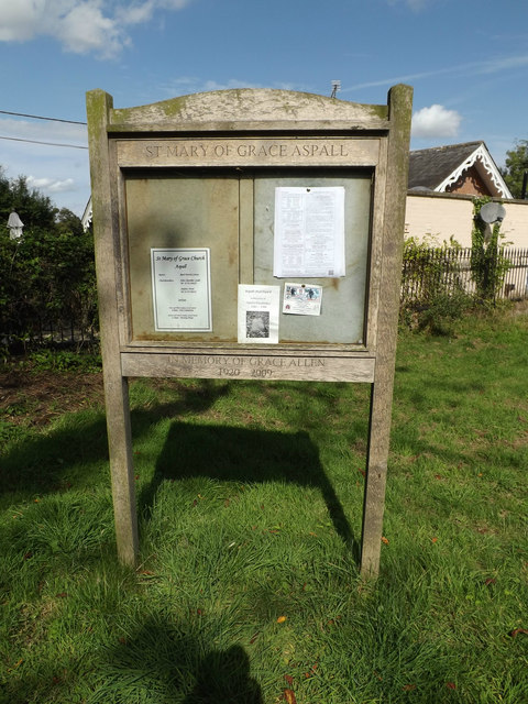 St.Mary of Grace Church Notice Board