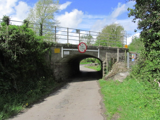 A very low bridge at Oghill near Monasterevin