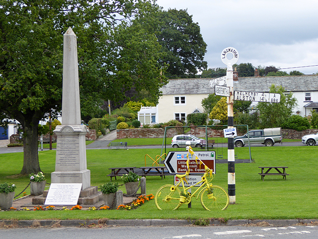 The yellow bikes of Langwathby (2)