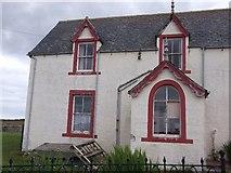 ND3472 : Empty house, Canisbay by Richard Webb