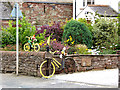 NY5633 : The yellow bikes of Langwathby (6) by Oliver Dixon